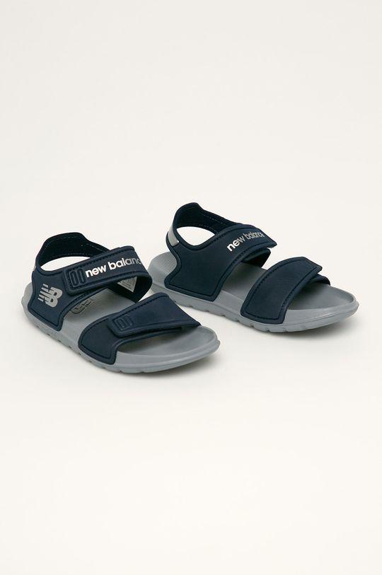 New Balance - Dětské sandály YOSPSDNV námořnická modř