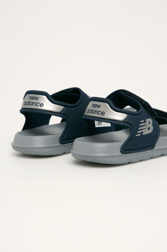 New Balance - Dětské sandály YOSPSDNV Svršek: Umělá hmota Vnitřek: Umělá hmota, Textilní materiál Podrážka: Umělá hmota