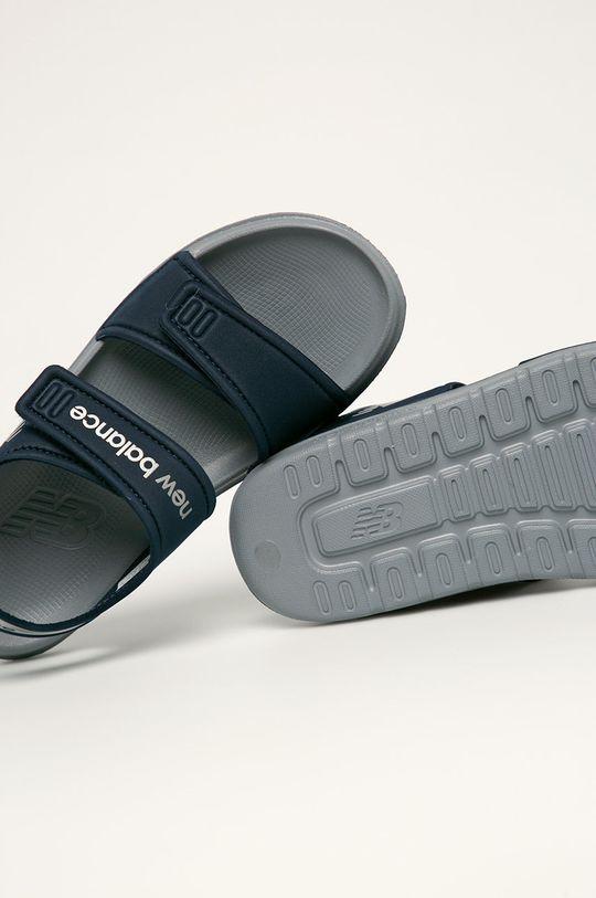 námořnická modř New Balance - Dětské sandály YOSPSDNV