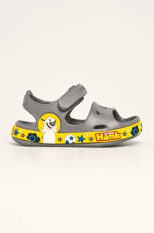 šedá Coqui - Dětské sandály Chlapecký