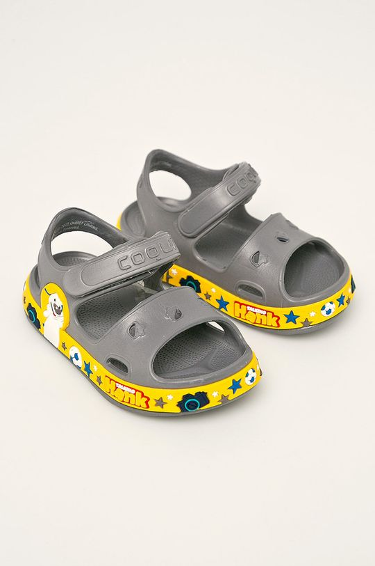 Coqui - Dětské sandály šedá