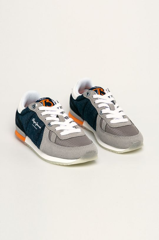 Pepe Jeans - Dětské boty Sydney Denim fialová
