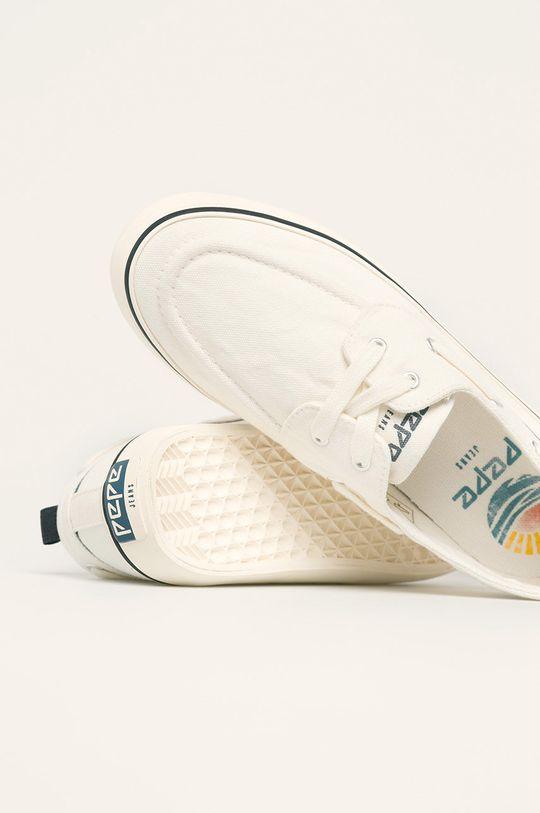 bílá Pepe Jeans - Dětské tenisky Traveller Boat