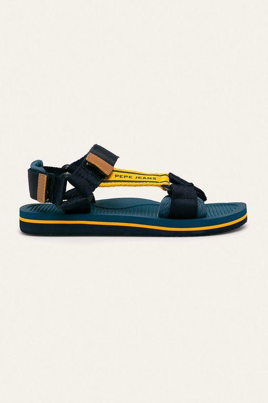 námořnická modř Pepe Jeans - Dětské sandály Pool Basic Chlapecký