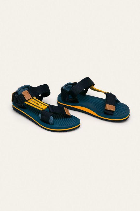 Pepe Jeans - Dětské sandály Pool Basic námořnická modř