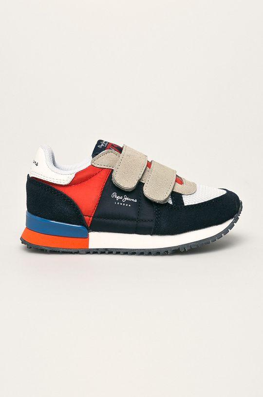 tmavomodrá Pepe Jeans - Detské topánky Sydney Basic Chlapčenský
