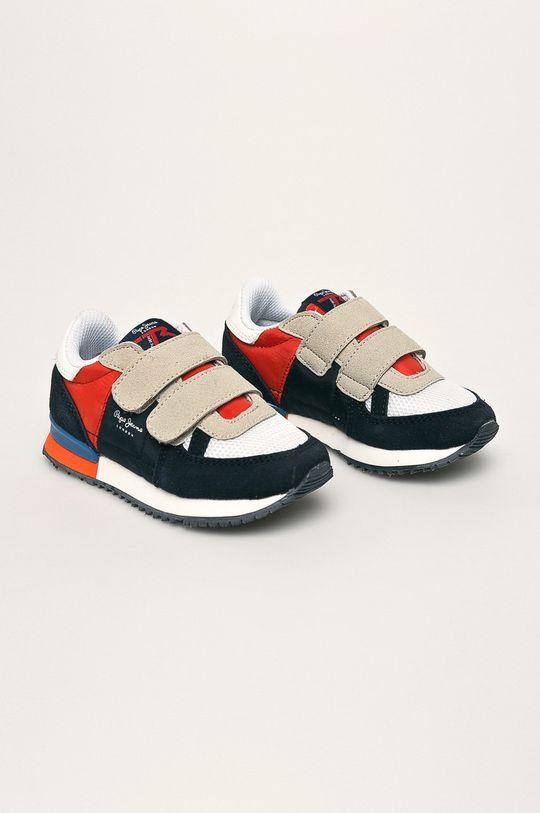 Pepe Jeans - Detské topánky Sydney Basic tmavomodrá