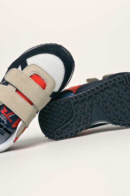 tmavomodrá Pepe Jeans - Detské topánky Sydney Basic