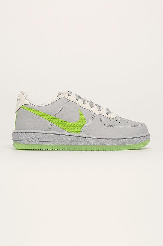 svetlosivá Nike Kids - Detské topánky Force 1 Lv8 3 Chlapčenský