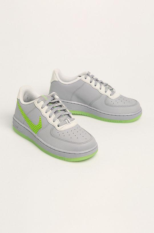 Nike Kids - Detské topánky Force 1 Lv8 3 svetlosivá