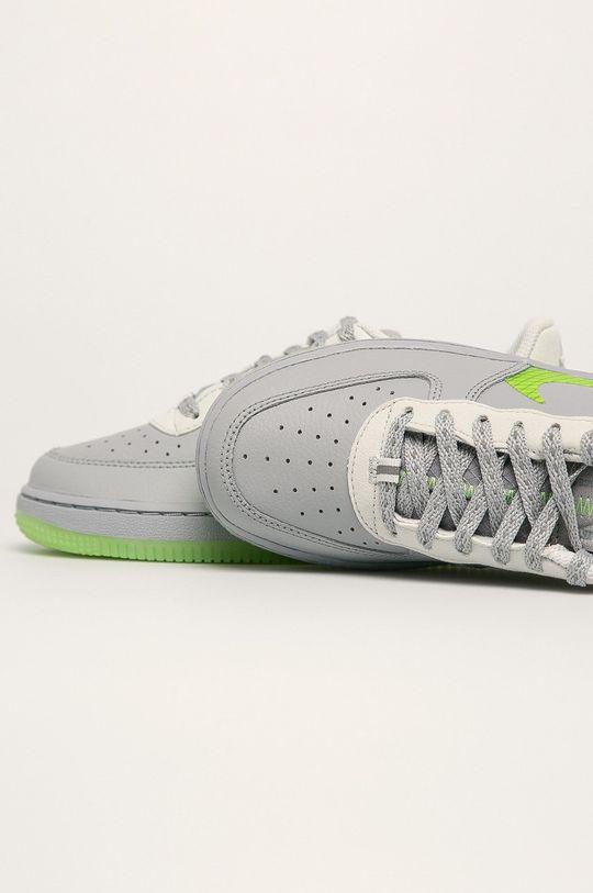 svetlosivá Nike Kids - Detské topánky Force 1 Lv8 3