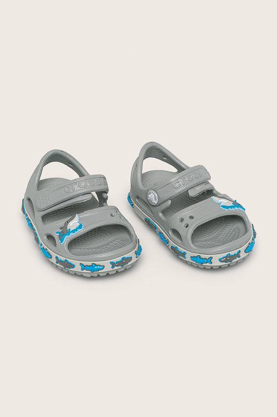 Crocs - Детски сандали светлосив