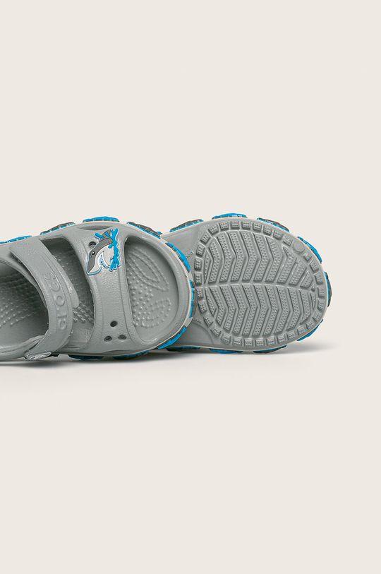 светлосив Crocs - Детски сандали