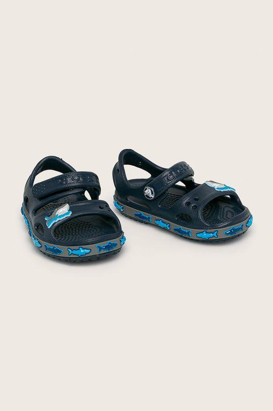 Crocs - Детски сандали тъмносин