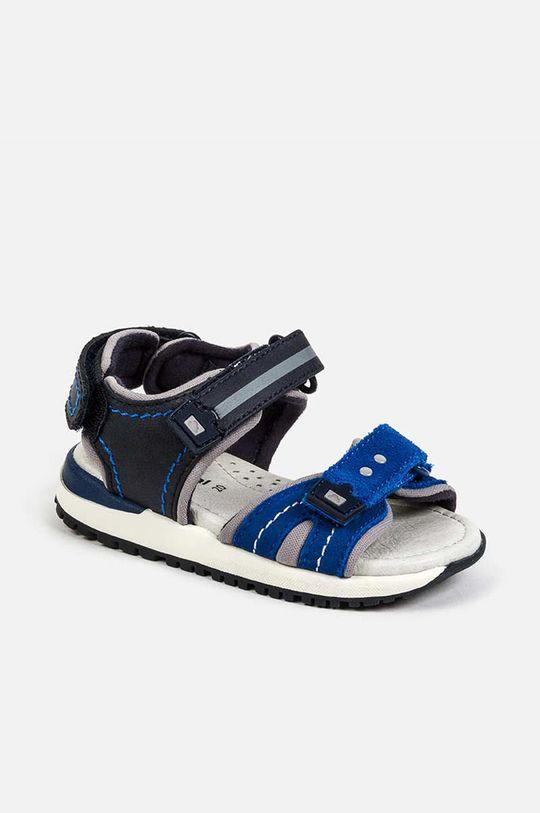 albastru Mayoral - Sandale de piele De băieți