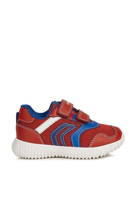 czerwony Geox - Buty dziecięce Chłopięcy