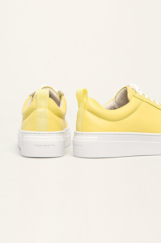żółty Vagabond - Buty skórzane Zoe Platform