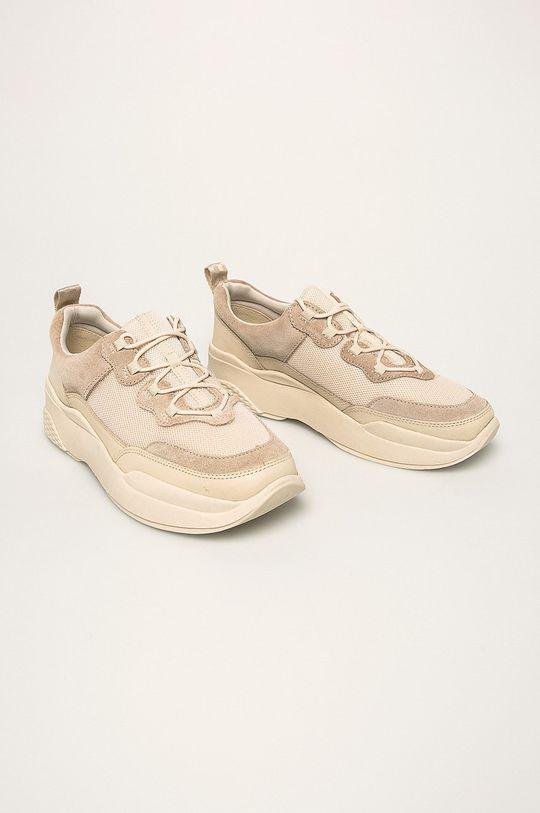 Vagabond - Topánky Lexy krémová