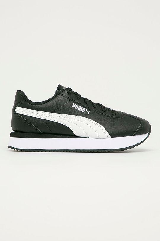 negru Puma - Pantofi Turino Stacked De femei