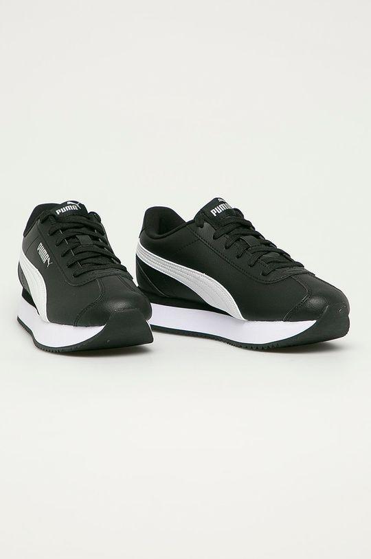 Puma - Pantofi Turino Stacked negru