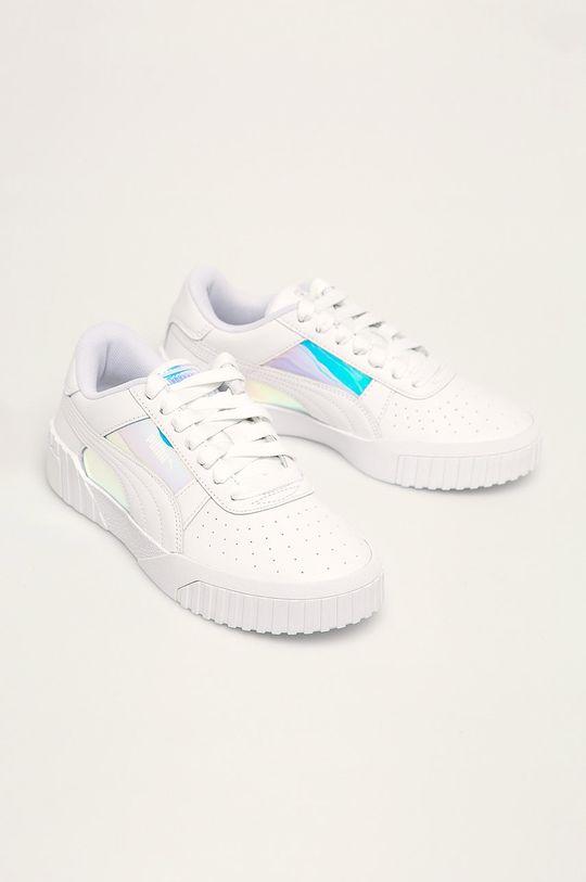 Puma - Topánky Cali Glow Wn's biela