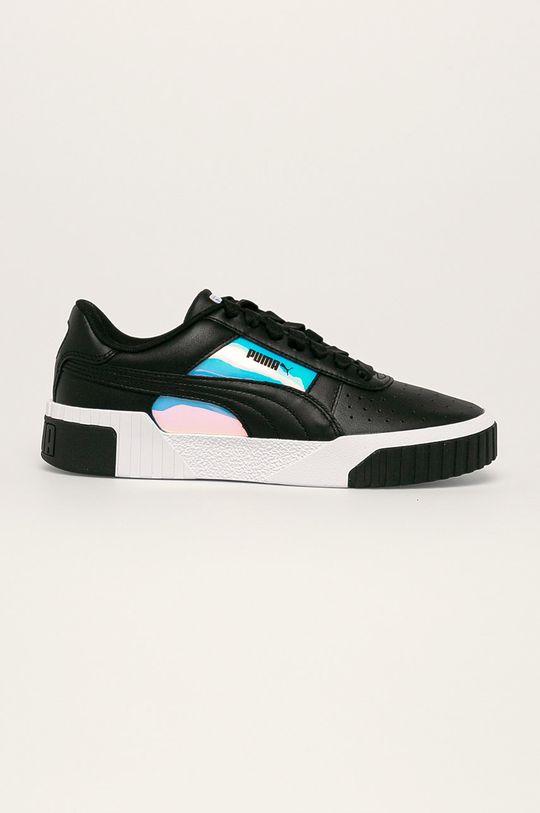 čierna Puma - Topánky Cali Glow Wn's Dámsky