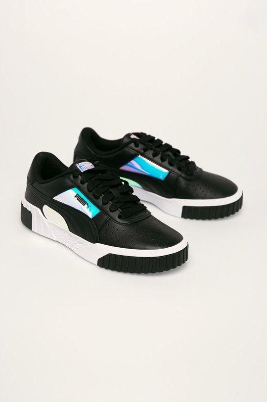 Puma - Topánky Cali Glow Wn's čierna