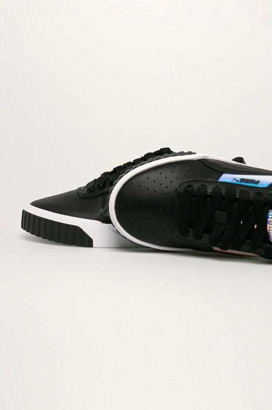čierna Puma - Topánky Cali Glow Wn's