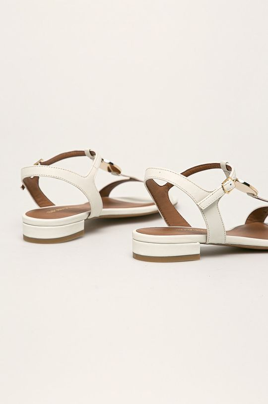 Emporio Armani - Sandały skórzane Cholewka: Skóra naturalna, Wnętrze: Skóra naturalna