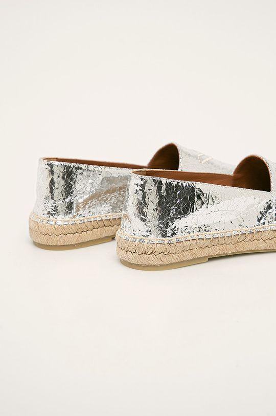 Emporio Armani - Espadrile de piele  Gamba: Piele naturala Interiorul: Material textil, Piele naturala Talpa: Material sintetic