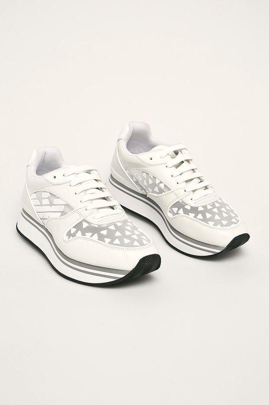 Emporio Armani - Pantofi alb