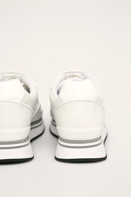 Emporio Armani - Pantofi Gamba: Material sintetic, Piele naturala Interiorul: Material textil Talpa: Material sintetic