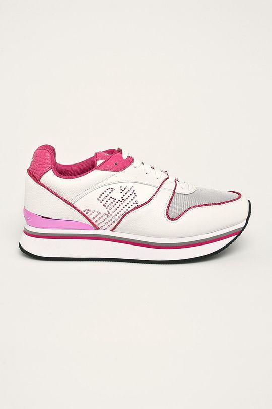 бял Emporio Armani - Обувки Жіночий