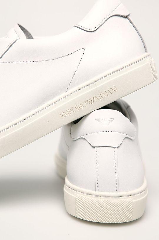 Emporio Armani - Kožená obuv  Zvršok: Prírodná koža Vnútro: Prírodná koža Podrážka: Syntetická látka