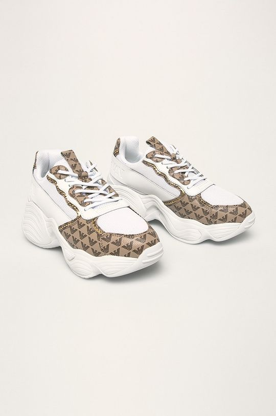 Emporio Armani - Topánky biela