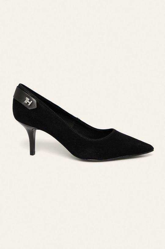 negru Tommy Hilfiger - Stilettos de piele De femei
