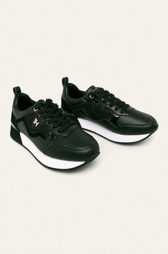 Tommy Hilfiger - Pantofi negru