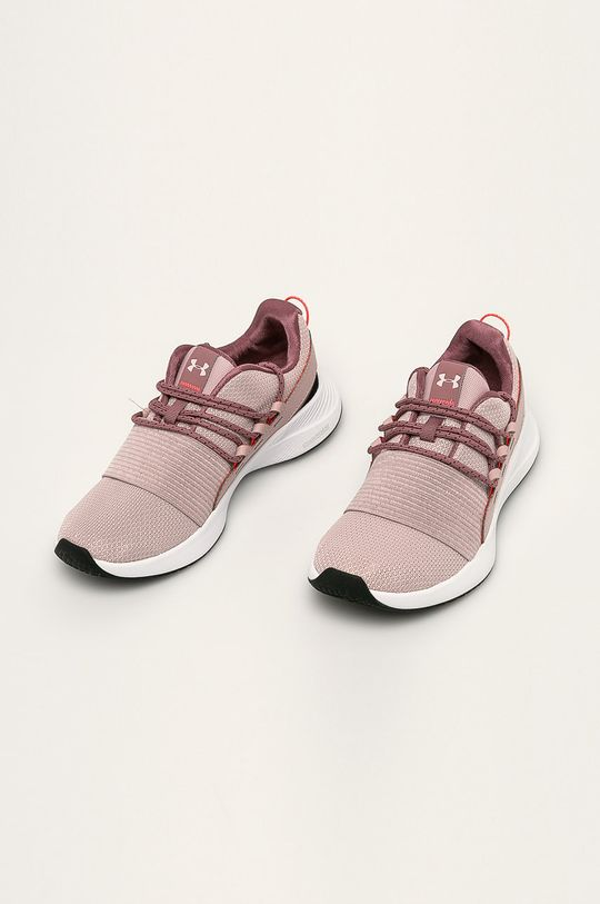 Under Armour - Buty Charged Breathe Lace brudny róż