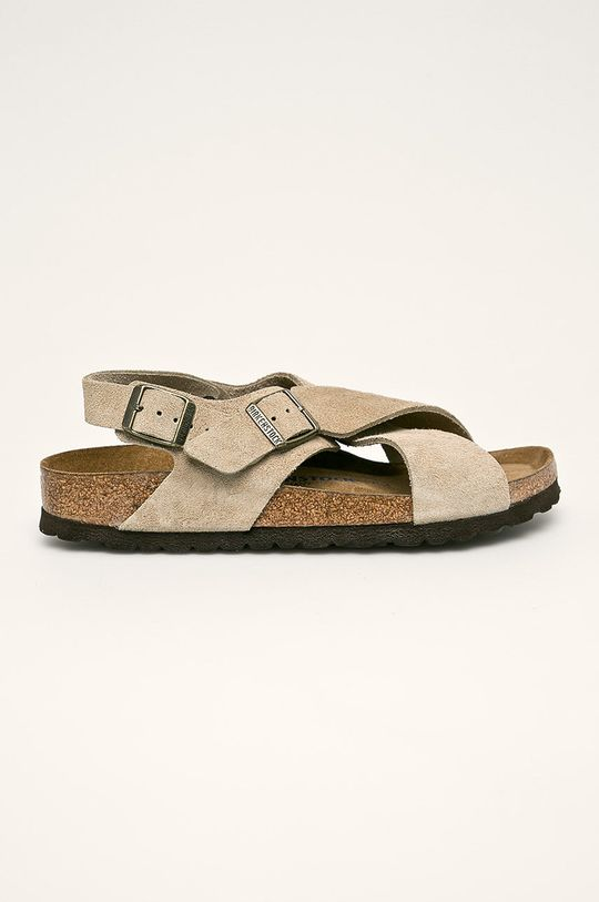 bej Birkenstock - Sandale de piele Tulum De femei