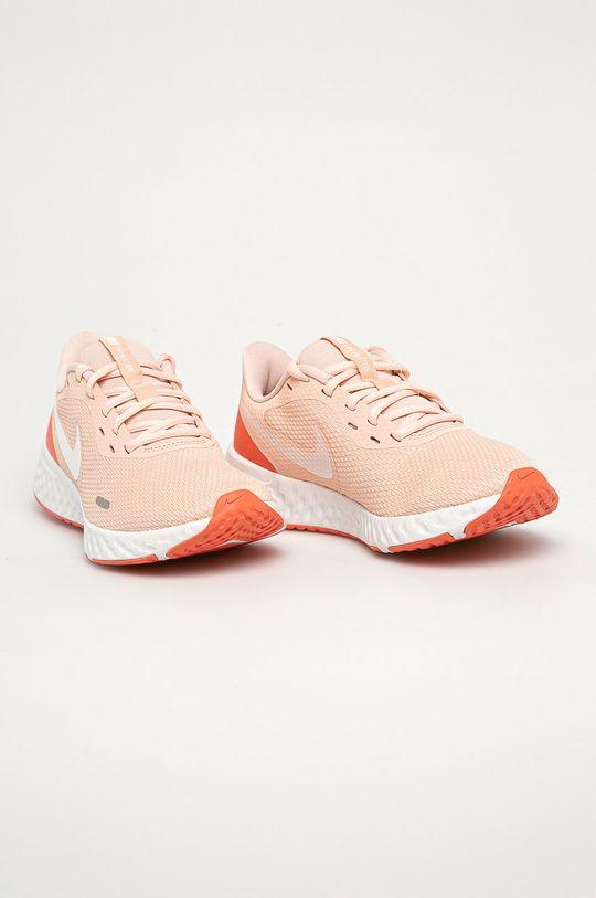 Nike - Pantofi Revolution 5 portocaliu deschis