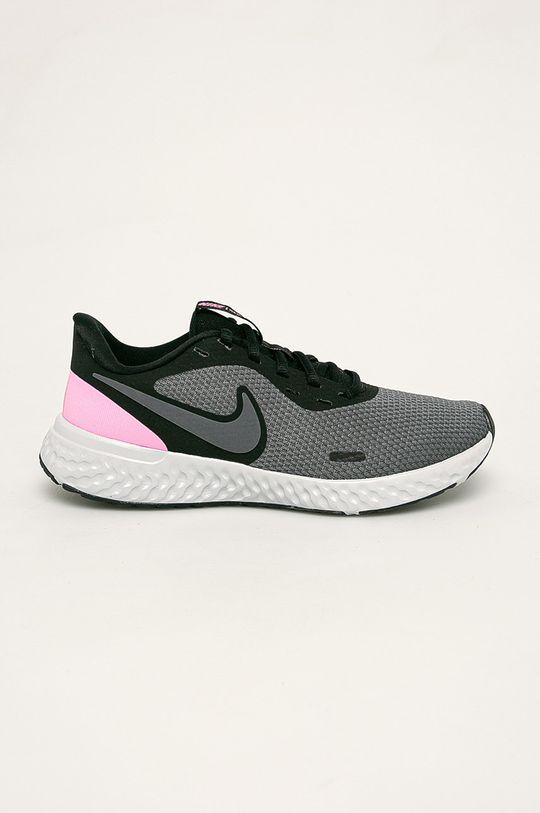 šedá Nike - Boty Revolution 5 Dámský