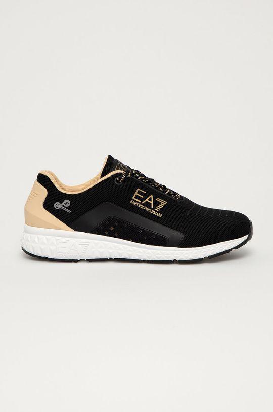 čierna EA7 Emporio Armani - Topánky Dámsky