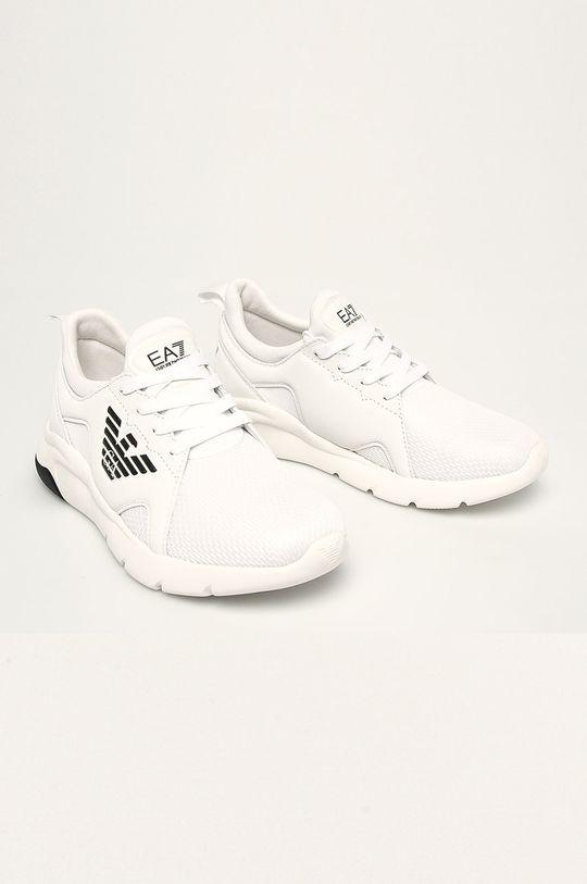 EA7 Emporio Armani - Pantofi alb