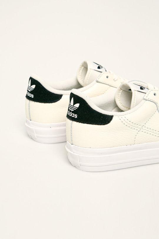 adidas Originals - Buty skórzane Continental Vulc Cholewka: Materiał tekstylny, Skóra naturalna, Wnętrze: Materiał tekstylny, Podeszwa: Materiał syntetyczny