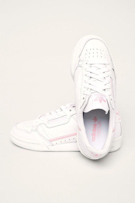 biela adidas Originals - Topánky