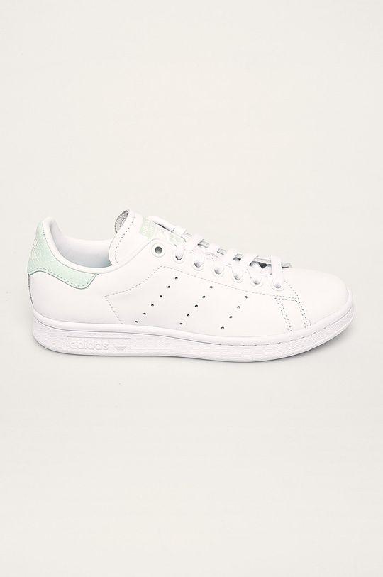 bílá adidas Originals - Kožené boty Stan Smith Dámský