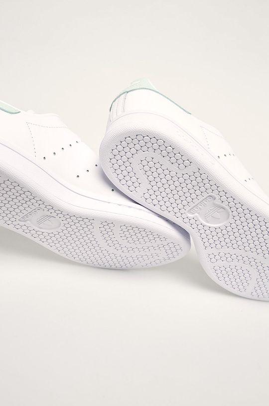 bílá adidas Originals - Kožené boty Stan Smith