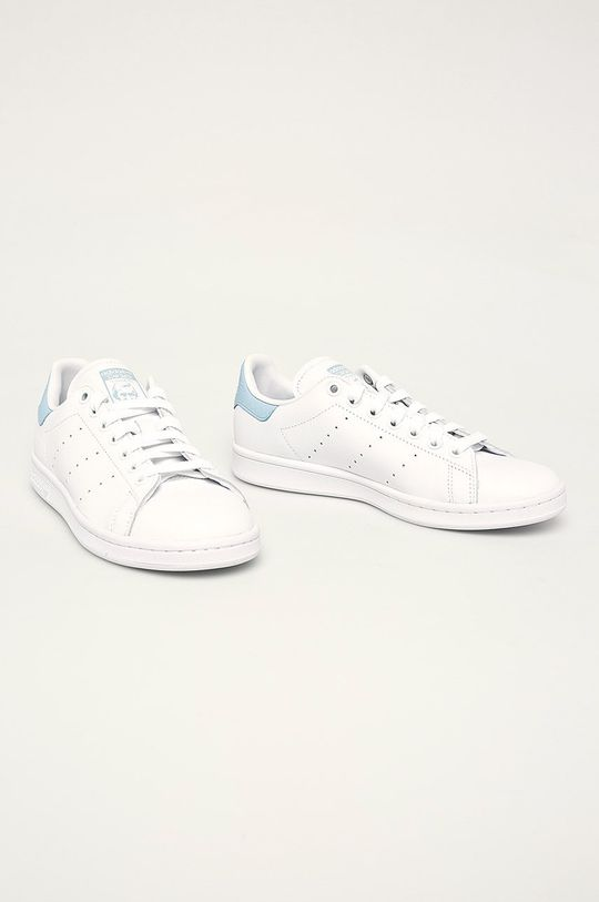adidas Originals - Kožená obuv Stan Smith biela
