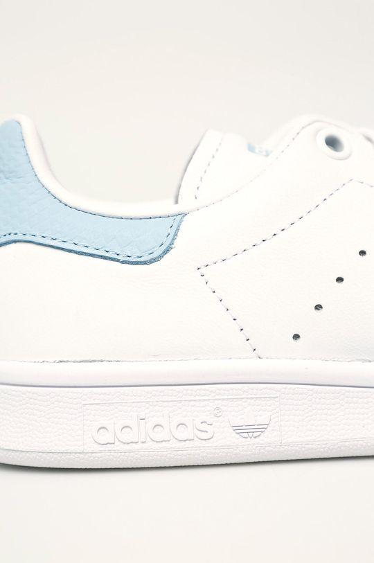 biela adidas Originals - Kožená obuv Stan Smith