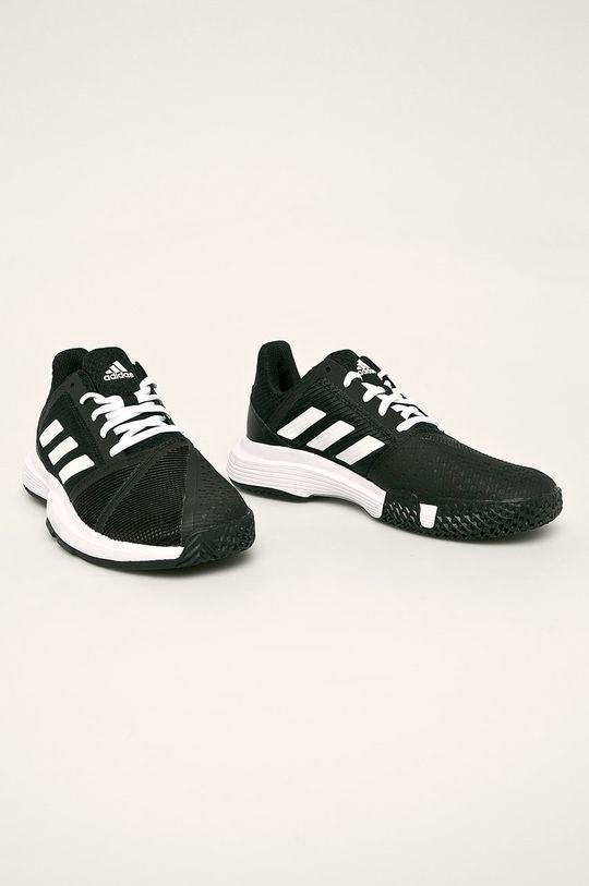 adidas Performance - Pantofi CourtJam Bounce W negru